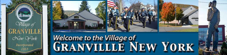 Village of Granville NY