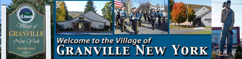 Village Court – Village of Granville NY
